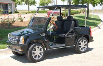Escalade Golf Cart Cadillac Escalade Golf Cart