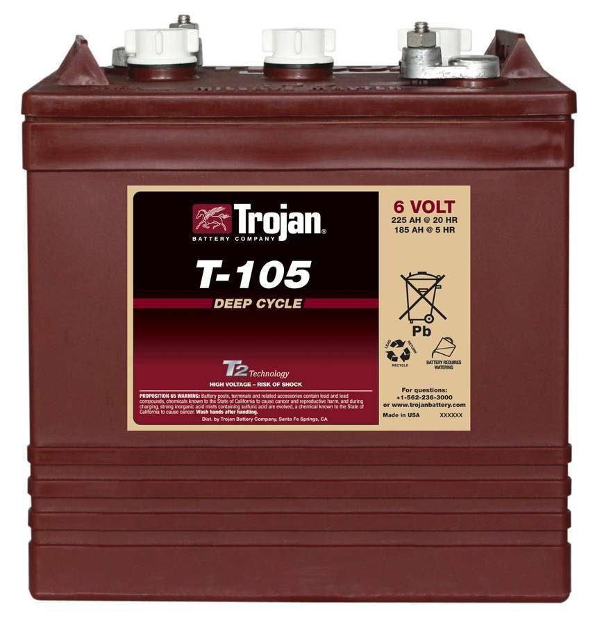 Trojan battery