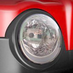 headlight on a revolution golf car