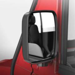 rear view mirror on a revolution golf car