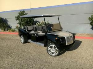 excalibur golf car limo
