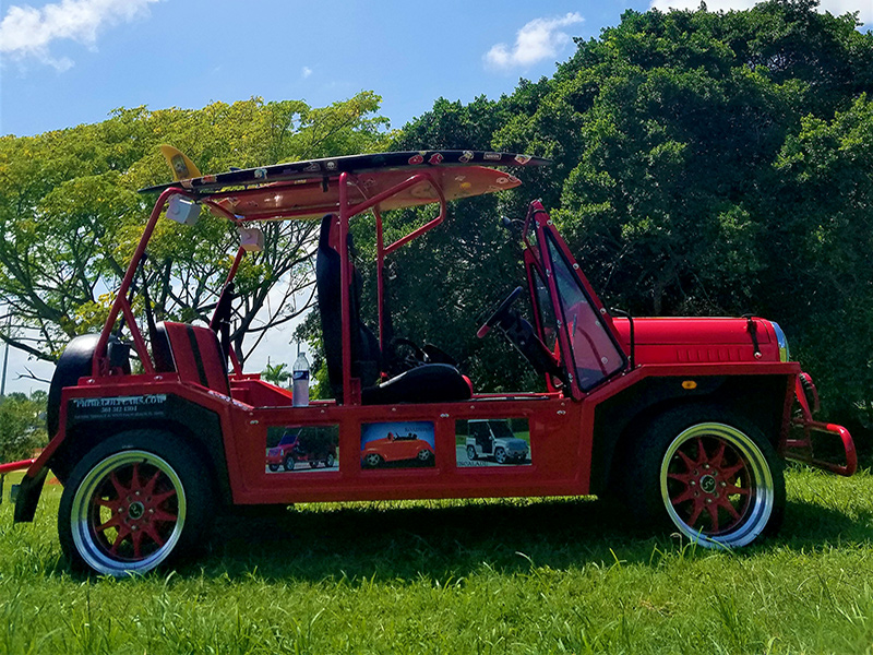 red moke golf cart, moke golf cars, golf cart rentals, golf cart rent