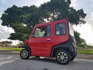 revolution golf car
