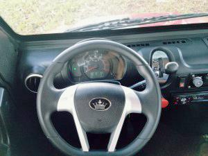 revolution golf car steering wheel