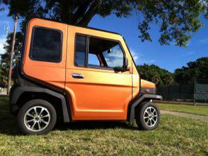 orange revolution golf car