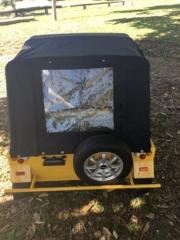 yellow moke golf cart, moke golf car, moke rental, golf cart, golf car