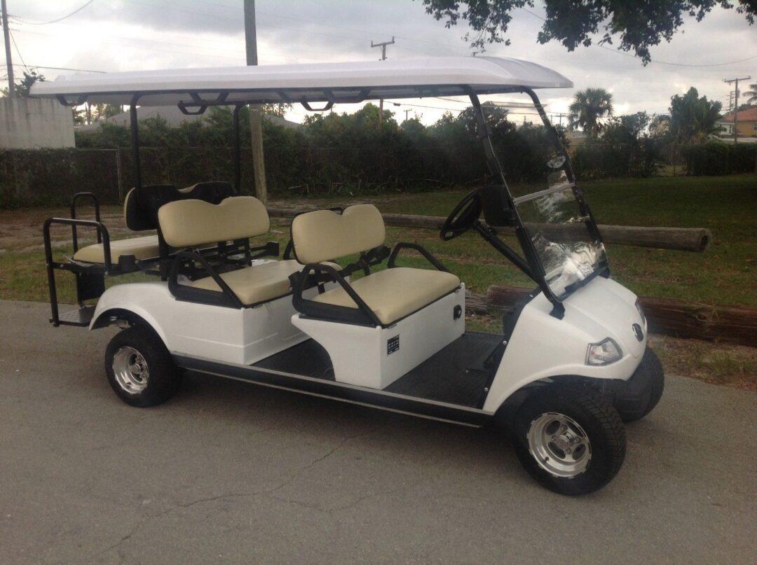 evolution limo golf cart, evolution limo golf car, evolution golf cart