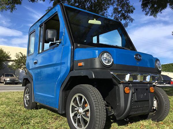 evolution revolution, street legal golf cart, lsv golf cart