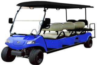 evolution classic 6/8 passenger golf cart, classic 6/8 passenger golf cart, golf cart