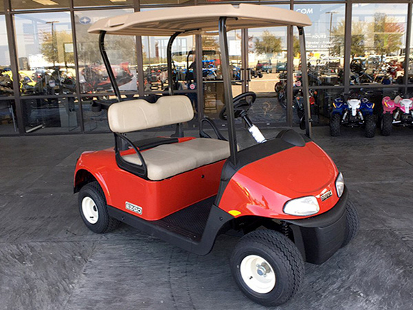 Ez Go Red Seater on gem golf cart sales