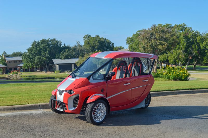aev 311, aev 311 electric vehicle, electric vehicle rental