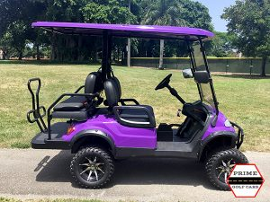 advanced ev 2+2 lifted golf cart, 2+2 lifted cart, ev 2+2