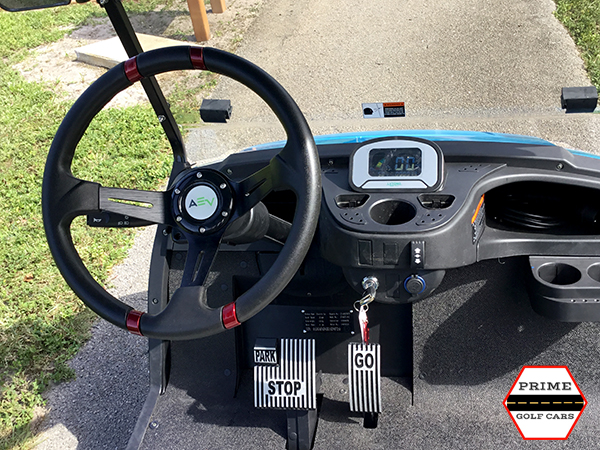 advanced ev 4+2 golf cart, ev 4+2 cart