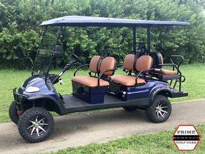 advanced ev 4+2 lifted golf cart, ev 4+2 lifted cart,  4+2 cart