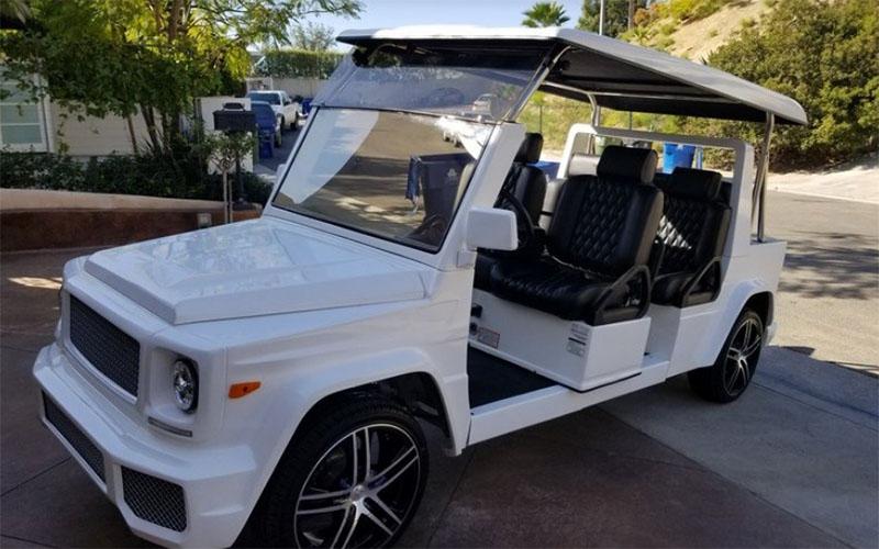 e wagon limo lsv golf car, e wagon limo, e wagon limo rental