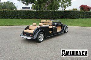 california roadster limo golf cart, 1929 california roadster limo golf car
