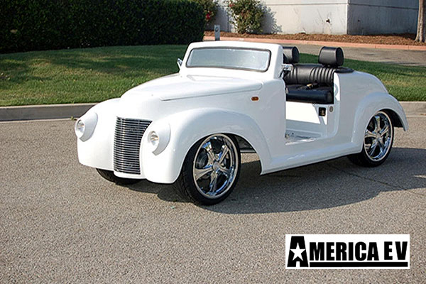 39 roadster golf cart, 1939 roadster golf car, lsv golf cart