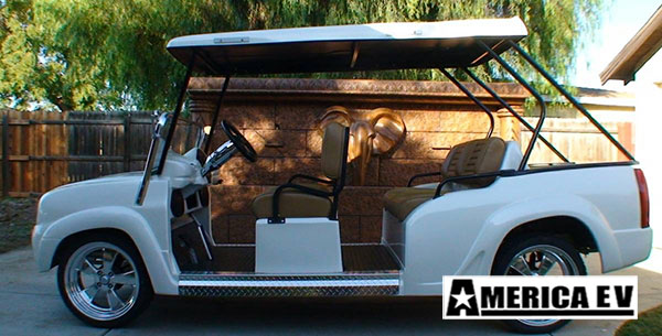 e luxe limo lsv golf car, e luxe limo, e luxe limo rental