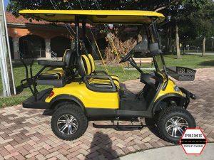 advanced ev 2 plus 2 lifted golf cart, 2+2 lifted cart