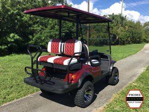 advanced ev 2 plus 2 lifted golf cart, ev2+2 lifted cart