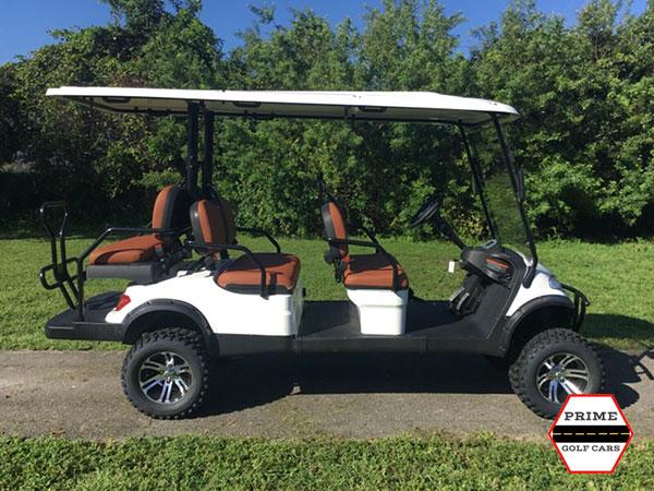 advanced ev 4+2 lifted golf cart, ev 4+2 lifted cart, ev 4+2 cart